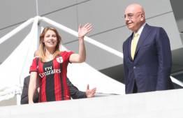 Barbara Berlusconi e Adriano Galliani