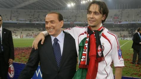 Berlusconi e Inzaghi