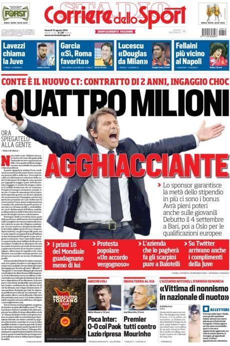 Corriere dello Sport 15-08-2014