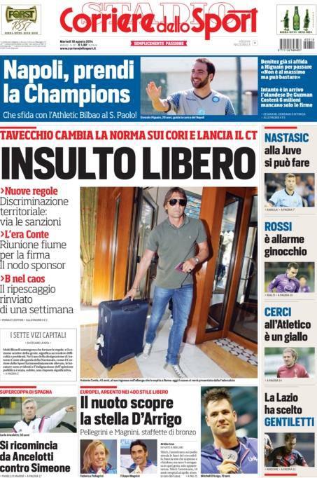 Corriere dello Sport 19-08-2014