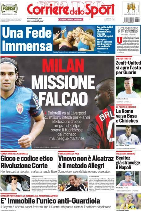 Corriere dello Sport 22-08-2014