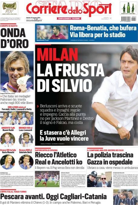 Corriere dello Sport 23-08-2014