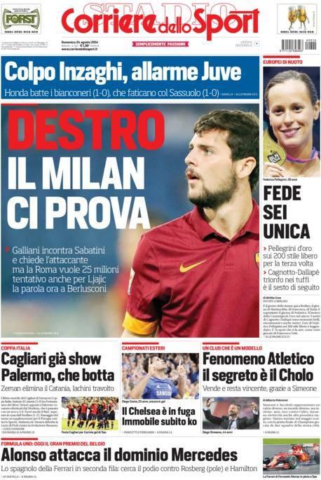 Corriere dello Sport 24-08-2014