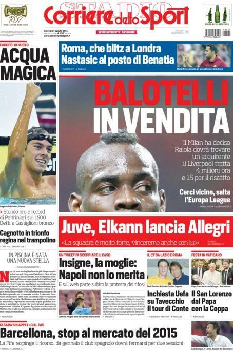 Corriere dello Sport 21-08-2014