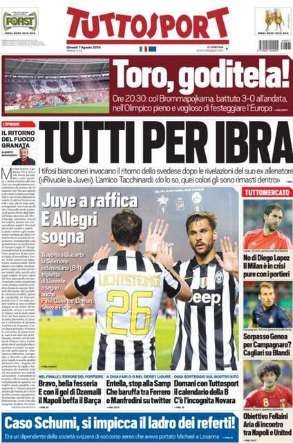 Tuttosport 07-08-2014