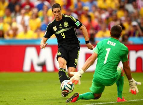 Torres con la Spagna