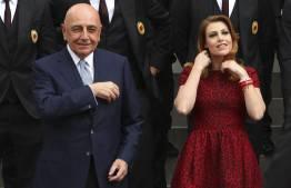Adriano Galliani & Barbara Berlusconi