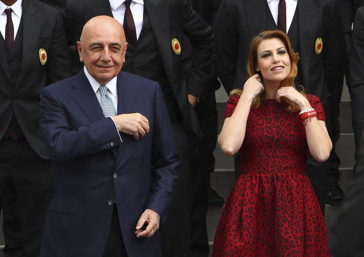 Adriano Galliani Barbara Berlusconi