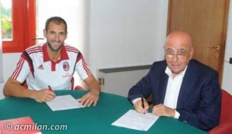 Diego Lopez & Adriano Galliani