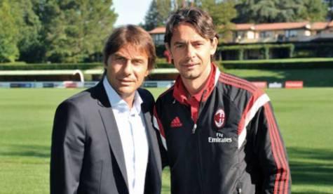 Antonio Conte e Filippo Inzaghi