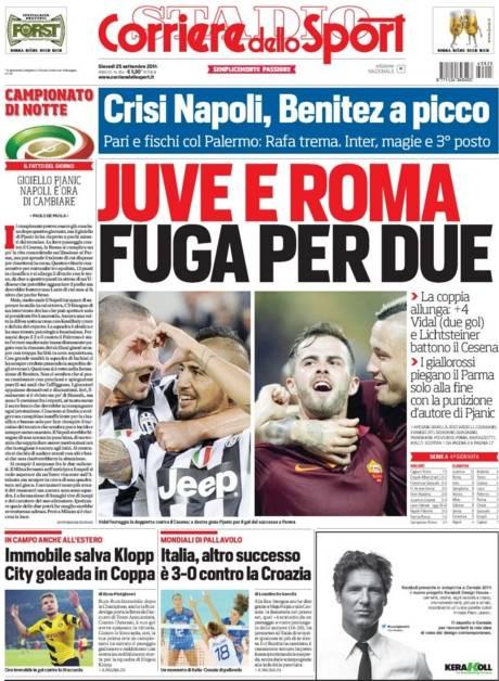 Corriere dello Sport 25-09-2104
