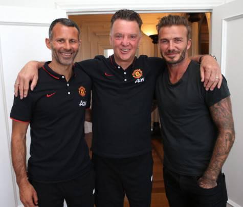 Giggs, Van Gaal & Beckham