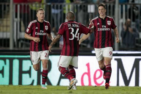 Il Milan a Empoli