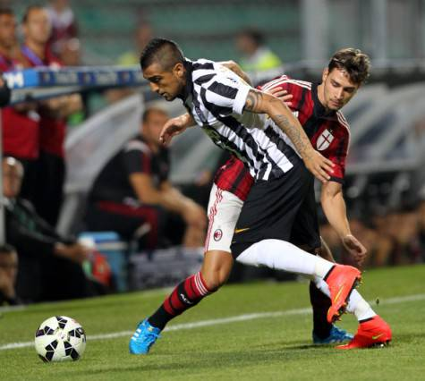 De Sciglio vs Vidal (Getty Images)