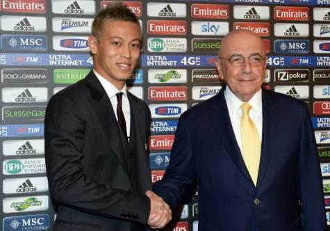 Keisuke Honda & Adriano Galliani