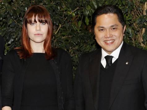 Barbara Berlusconi e Erick Thohir