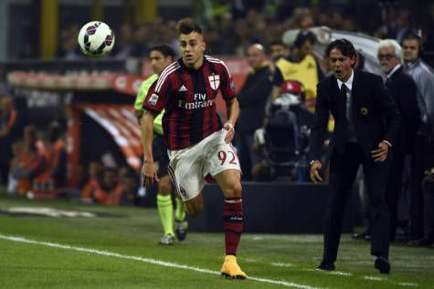 Stephan El Shaarawy e Filippo Inzaghi (Getty Images)
