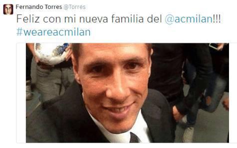 Il messaggio di Torres