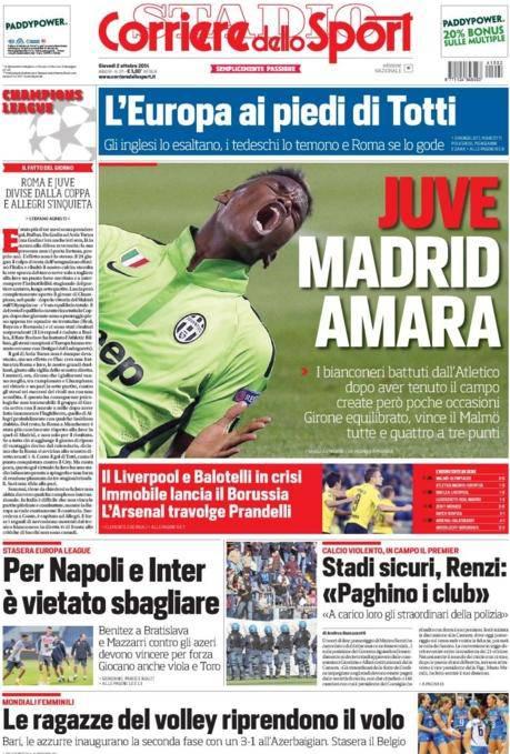 Corriere dello Sport 02-10-2014