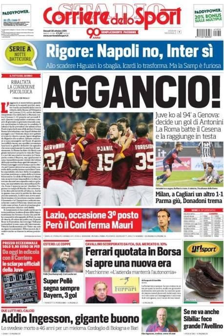 Corriere dello Sport (30-10-2014)