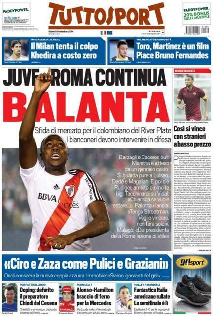 Tuttosport 09-10-2014