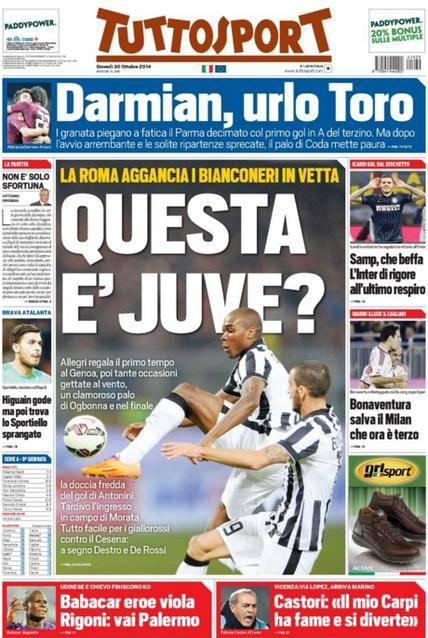 Tuttosport (30-10-2014)