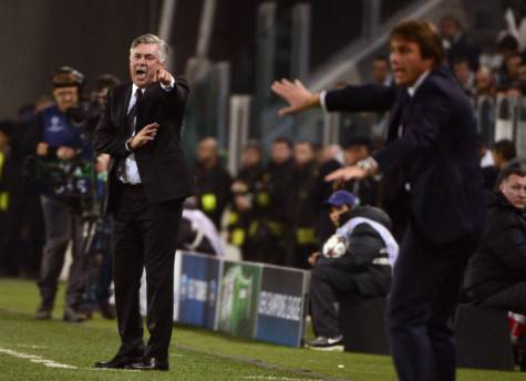 Antonio Conte & Carlo Ancelotti (Getty Images)