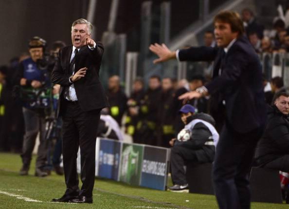 Antonio Conte & Carlo Ancelotti (Getty Images)