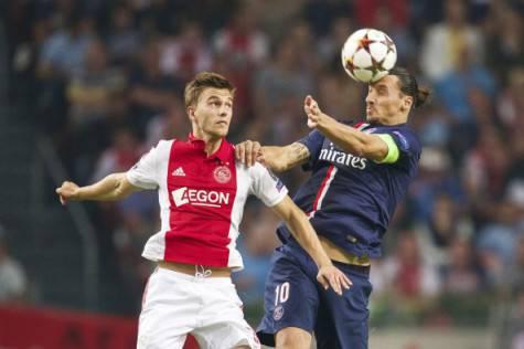 Joel Veltman vs Zlatan Ibrahimovic