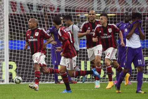 Milan-Fiorentina (Getty Images)