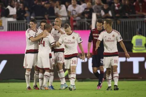 L'esultanza dopo il gol di Bonaventura (Getty Images)