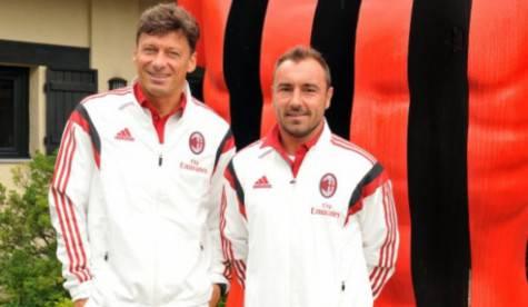 Stefano Nava & Cristian Brocchi (acmilan.com)