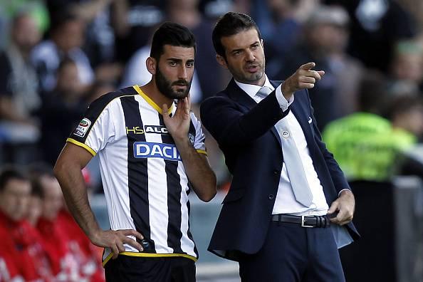 Mister Stramaccioni & Belmonte (Getty Images)