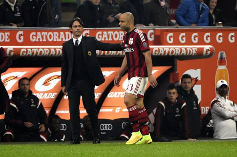 Filippo Inzaghi & Alex (Getty Images)