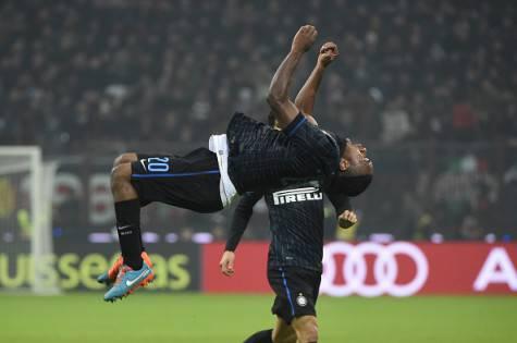 Obi esulta per il gol al Milan (Getty Images)