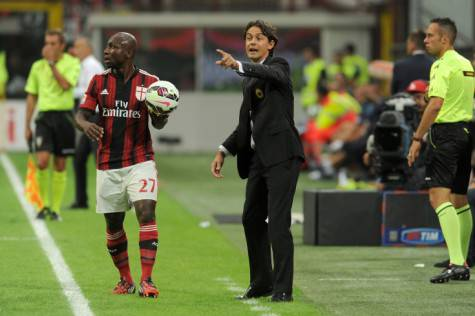Pablo Armero & Filippo Inzaghi (Getty Images)