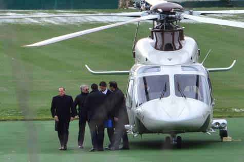 Silvio Berlusconi a Milanello (Getty Images)