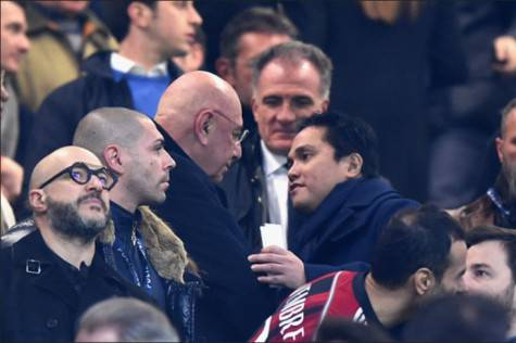 Adriano Galliani & Erick Thohir (Getty Images)