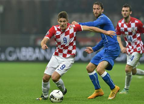 Andrej Kramaric vs Claudio Marchisio (Getty Images)
