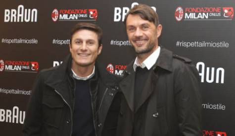 Javier Zanetti & Paolo Maldini (Getty Images)