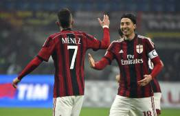 Jeremy Menez & Riccardo Montolivo (Getty Images)