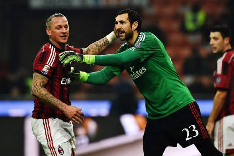 Diego Lopez & Philippe Mexes (Getty Images)