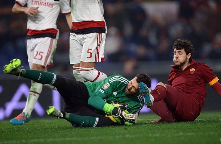 Diego Lopez straordinario (Getty Images)