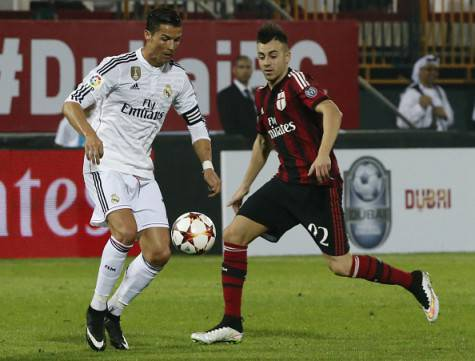 CR7 contro El Shaarawy (Getty Images)