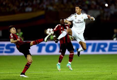 El Shaarawy vs  Cristiano Ronaldo (Getty Images)