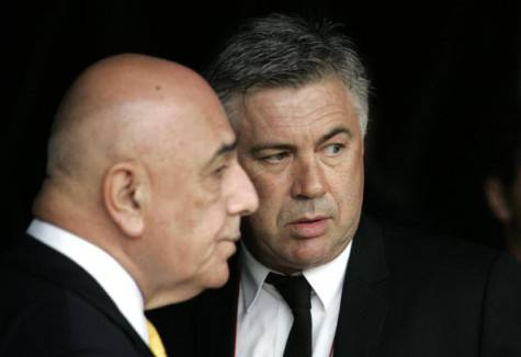 Galliani e Ancelotti (getty images)