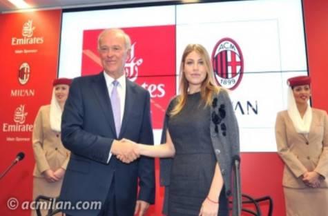 Tim Clark & Barbara Berlusconi (acmilan.com)