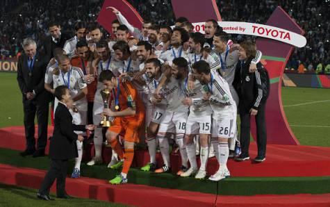 Real Madrid campione del Mondo (Getty Images)