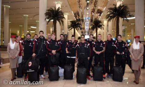Milan a Dubai