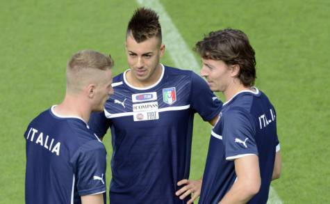 Abate, El Shaarawy e Montolivo (getty images)